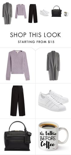 """""""Untitled #3735"""" by memoiree ❤ liked on Polyvore featuring Marc Jacobs, CÉLINE, Jil Sander, adidas Originals and Victoria Beckham"""