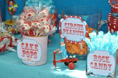 Circus Carnival DIY Candy Bar Labels by partyinvites on Etsy, $5.00