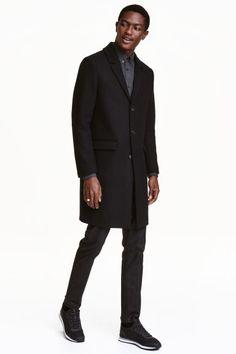 Manteau en laine mélangée Modèle