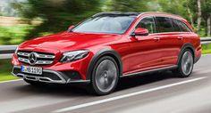 Neue Mercedes E-Klasse All-Terrain offenbart Rivalen Volvo V90 Cross Country