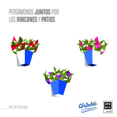 Ilustración creada para los Patios de Córdoba 2016