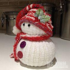 Kimm Landmesser: Handmade Sock Snowmen Tutorialha HANAN