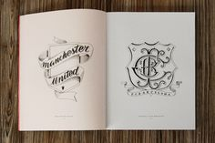 Hand-drawn typographic soccer logos by Tyrsamisu — more at the link.