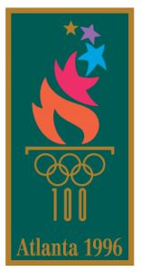 1996 Olympics in Atlanta - We lived in Atlanta during this time and saw several competitions. We were even in Centennial Olympic Park during a (faked) bomb threat! 2010 Winter Olympics, Summer Olympics, Winter Olympic Games, Winter Games, Summer Games, Logos Vintage, Vintage Posters, Qi Gong, History Of Olympics