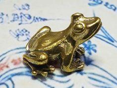 Brass Lucky Fighting Chicken Hen Magic Amulet Wealth Talismans Hunting Money Art