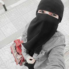 Niqab Fashion, Stylish Hijab, Hijab Niqab, Muslim Beauty, Gray Aesthetic, Hijabi Girl, Cute Girl Photo, Beautiful Hijab, Muslim Women