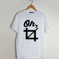 Oh Crop t shirt men and t shirt women by fashionveroshop