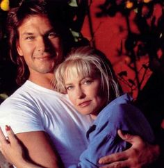 Beautiful shot of Patrick Swayze and Lisa Niemi. - HUSBAND & WIFE DANCERS.....HE DIED FROM PANCREATIC CANCER......HE ALWAYS SEEMED LIKE A GOOD PERSON...........ccp