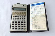CASIO FX-602P プログラム関数電卓