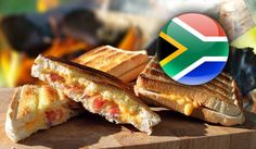 The traditional South African braaibroodjie certainly deserves a few drum rolls. Here is a delicious step by step braaibroodjies recipe. Brown Bread, White Bread, Braai Recipes, Cooking Recipes, Types Of Cheese, South African Recipes, Ciabatta, Have You Tried, Onion
