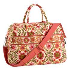 Weekender | Vera Bradley  I need an overnight bag...my 18 year old Jansport just isn't cutting it.