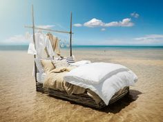 The perfect summer bedroom.