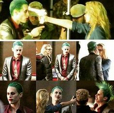 I'm so excited to see this scene.Harley Quinn and joker(Margot Robbie and Jared Leto)#suicidesquad