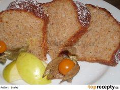 Jablková bábovka s vůní skořice a rumu Czech Recipes, Meatloaf, Rum, French Toast, Food And Drink, Treats, Breakfast, Cake, Sweet