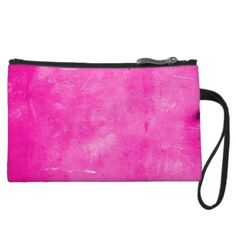 Pink Velvet Crush Grunge Clutch by BOLO CHIC.