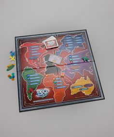 Take a look at this The 39 Clues Search for the Keys Board Game by University Games on #zulily today!