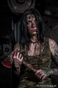 Lost Place Horror Shooting mit Sabrina Hyde