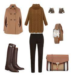 """Стиль жокей"" by yulia-gigina on Polyvore featuring мода, Etro, Burberry и Hermès"