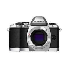 Olympus OM-D E-M10 Mirrorless Digital Camera (Silver)- Body only