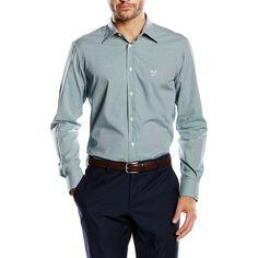 Versace 19.69 Abbigliamento Sportivo Srl Milano Italia Fit Modern Classic Neck Shirt MCC49