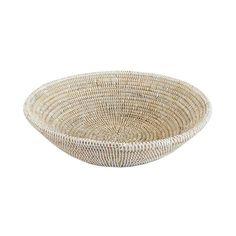 Woven Basket Bowl