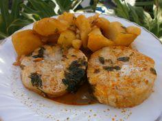 Luzmary y sus recetas caseras: GUISO DE PESCADO CON PAPAS Tapas, Fish, Chicken, Meat, Spanish, Fish Stew, One Pot Dinners, Lunches, Meals