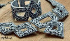 Celtic jewelry set Celtic necklace Celtic by HandmadeByAleksanta