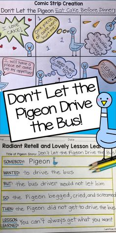 Are you reading Pigeon books written by Mo Willems to your students? These are wonderful read-alouds about the beloved Pigeon. Children love the humor that Pigeon displays. Readers have to decide if they agree or disagree with the Pigeon's thoughts and ideas.