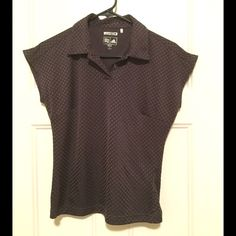 Purple Adidas Polo Shirt, Size Small Purple polka dot golf polo, size small.  So cute can wear on course or off.  Adidas Climacool fabric.  Great condition only worn couple of times Adidas Tops Tees - Short Sleeve