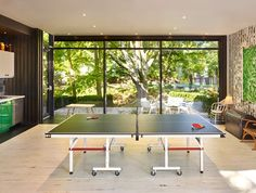 Ping pong for the more sporting guests