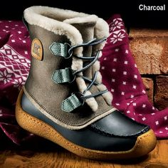 Sorel Women's Cascade: Founded Sixty Years Ago On the Frozen Plains of Canada, Sorel Introduces Cascade — True Warmth Without Stiffness or Bulk!