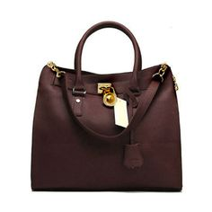 $77 Michael Kors Smooth Outlook Chocolate Dressy Tote Handbags : Michael Kors Outlet Online