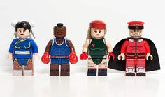 The Street Fighter LEGO Minifigs! Calm down right away, these LEGO figures showing the characters from fighting game Street Fighter are not marketed, but are part of a nice set of handmade custom minifigs by Julian Fong: Ryu, Bison, Chun Li, Guile , Blanka, Honda and others… The result is excellent!
