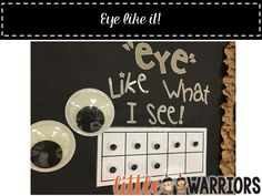 """""""EYE"""" LIKE WHAT I SEE!!!  Behavior Management & Rewards for your Whole Class - Little Warriors"""