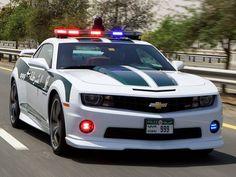 Chevrolet Camaro SS Police Car from Dubai.