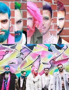 55 hommes djants qui teignent leurs cheveux et leur barbe pour une vie haute en couleur - Coloration Barbe Grande Surface