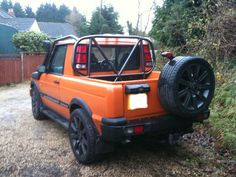#LandRover Discovery pick up !