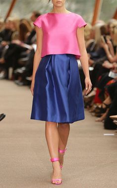 Circular Skirt by Carla Zampatti for Preorder on Moda Operandi
