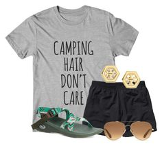 """""""What camp is all about: camp hair"""" by flroasburn on Polyvore featuring Patagonia, Chaco, Stella & Dot and Tory Burch"""