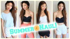 Summer Fashion Haul 2014! | Forever 21, Target, + Cash Giveaway!