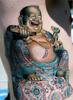 ba5705804 33 Best Laughing Buddha Tattoo images in 2017 | Buddha tattoos, Fat ...