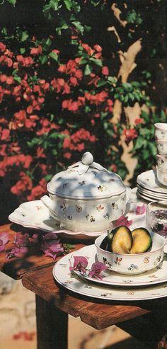 "Villeroy & Boch ""Petite Fleur"" (Erdinç Bakla archive)"