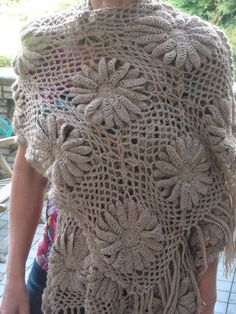 gehaakte sjaal stola - Gehaakte Sjaals - gehaakte sjaals - crochet