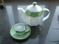 We dont post real goods! We just send you our ideal by email!    It is tea time!  Invite your friends to have a good time.  This lovely tea set is include a teapot, a teacup and a saucer. Its excellent for childrens playfood.    The most intriguing is :  The tea pot can be Luminous,If you just have a milk glass cup night light(you can get it easily,such as Ebay or others).  The special(bigger)paper pattern for the milk cup is provided additional. Its so much fun to put them on your bedside…