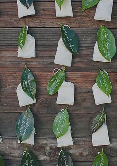50 Creative Escort Card Ideas That Double as Decor: When it comes to planning all the smaller details of your wedding, escort cards should definitely not be overlooked.