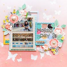 #papercraft #Scrapbook #layout     Mojito_day_by_evelynpy