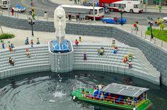 The Merlion at Legoland Malaysia