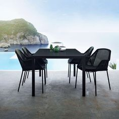 The Breeze Stackable Dining Chair features a convenient design without losing site of comfort, quality, and luxury.