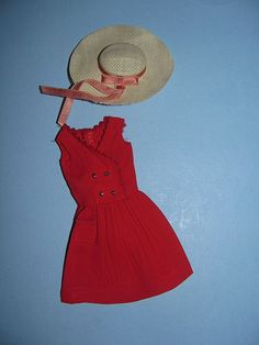 Vintage Barbie -Skipper's Red Sensation