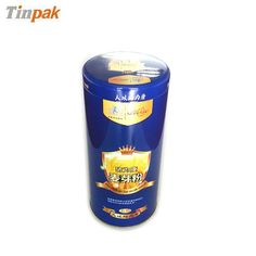 This round empty food tin container with your desired printing design is perfect for food, chocolate, candy, biscuit and more.